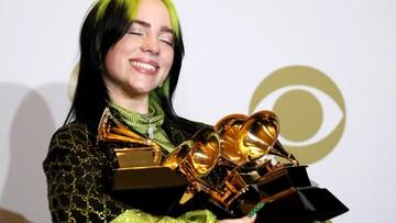 """Nagrody Grammy. 18-letnia piosenkarka """"znokautowała"""" rywali"""