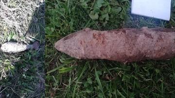 Grzybiarz odnalazł niewybuchy z czasów II wojny