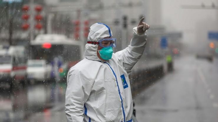 Zablokowali dojazd do ukraińskiego szpitala. Nie chcą ewakuowanych z Wuhan