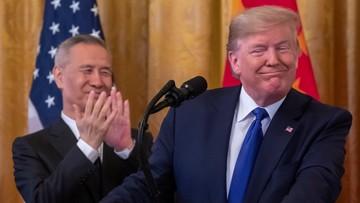 """Chiny i USA podpisały ważną umowę. """"Dziś zaczynają się zmiany"""""""