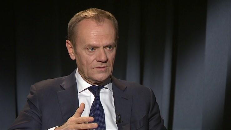 """""""To powód do smutku"""" - Tusk o Brexicie w programie """"Dzień na Świecie"""" w Polsat News o 22:30"""