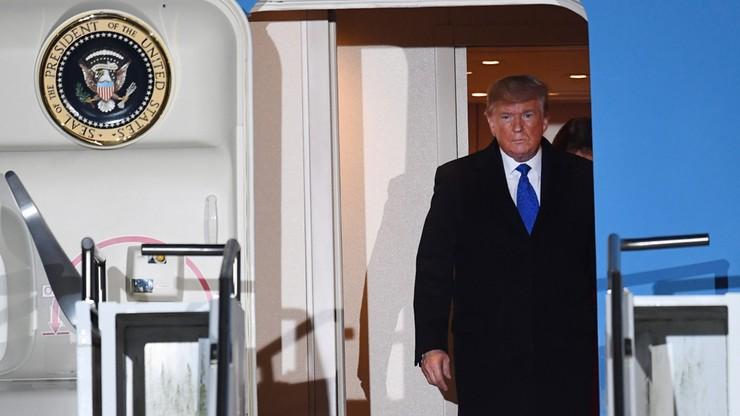 """Trump krytykuje Macrona. """"Widzę, jak Francja zrywa z NATO, choć potrzebuje ochrony"""""""
