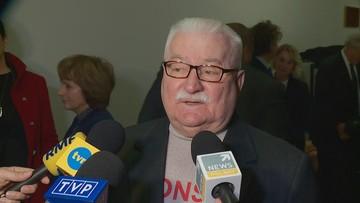 """Wałęsa po spotkaniu z Pencem: zabiegam, by USA """"odzyskały przewodzenie"""""""