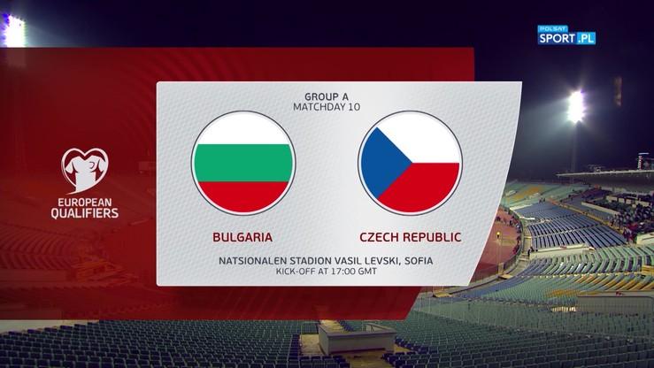 Bułgaria - Czechy 1:0. Skrót meczu