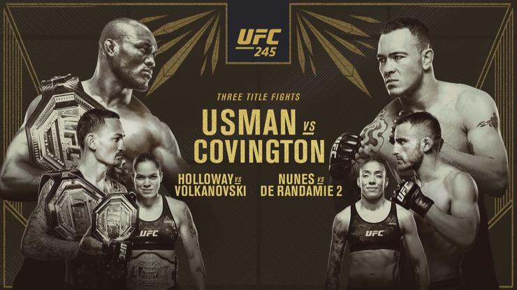 UFC 245: Wyniki i skróty walk