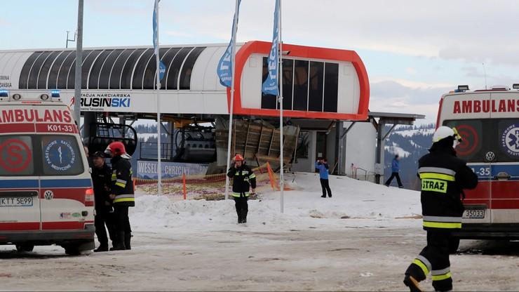Wstrząsająca relacja turystów. W Bukowinie Tatrzańskiej wiatr zerwał dach, który zabił trzy osoby