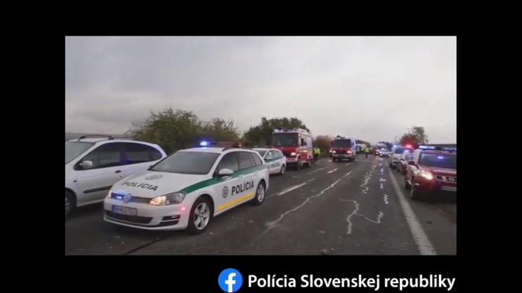 Tragiczny wypadek na Słowacji. Zginęło 12 osób, w tym uczniowie