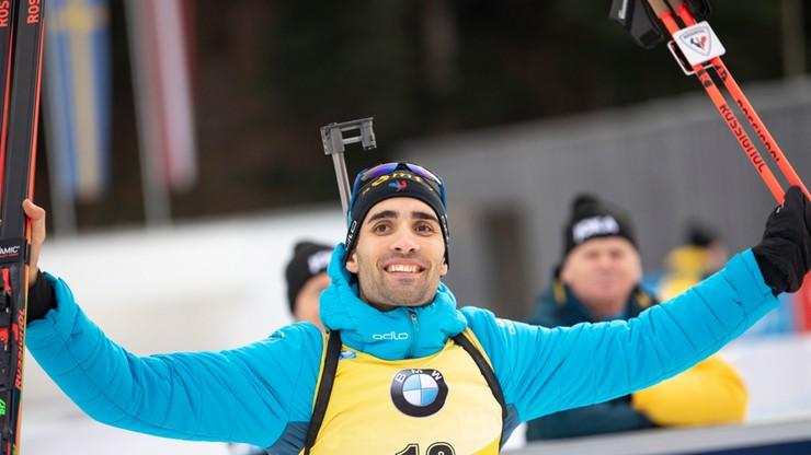 PŚ w biathlonie: Zwycięstwo Fourcade'a w Ruhpolding, Polacy daleko