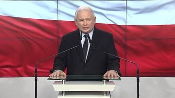 """Kaczyński: chcemy powstrzymać """"wysadzenie w powietrze"""" wymiaru sprawiedliwości"""