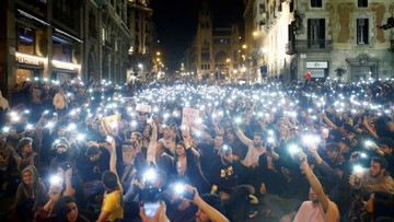 28 separatystów trafiło do aresztu po siedmiu dniach zamieszek w Katalonii
