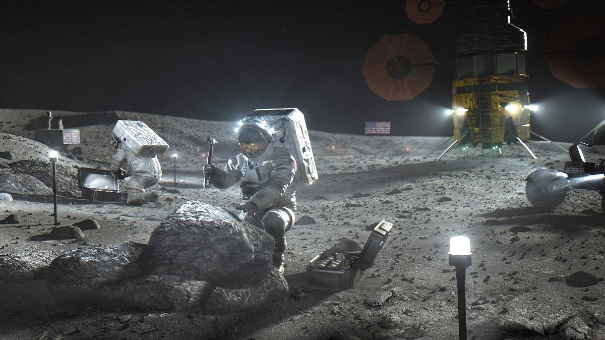 NASA przedstawiła swoje nowe plany lądowania na Księżycu w 2024 roku