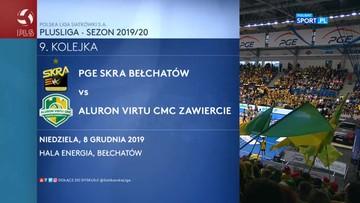 PGE Skra Bełchatów - Aluron Virtu CMC Zawiercie 3:0. Skrót meczu
