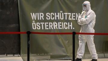 """Masowe testy na koronawirusa w Austrii. """"Chcemy w styczniu wrócić do normalności"""""""