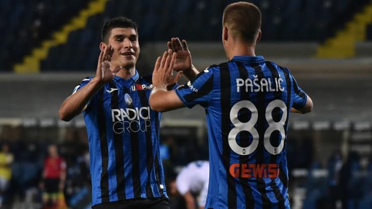 Serie A: Kolejna wysoka wygrana Atalanty. Klub z Bergamo jest wiceliderem