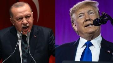 """Trump wezwał Erdogana, by zakończył inwazję w Syrii. """"Był bardzo stanowczy"""""""