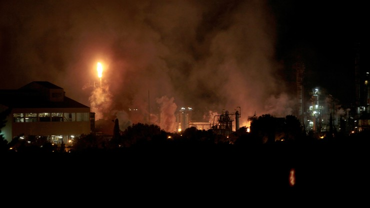 Wybuch w zakładzie chemicznym. Mieszkańcy mają pozostać w domach