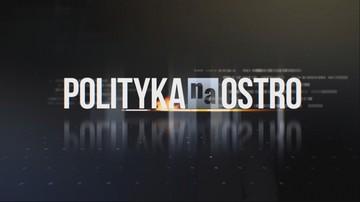 """Morawska-Stanecka, Zagórski, Sowa, Sawicki w """"Polityce na Ostro"""". Transmisja o godz. 20:00"""