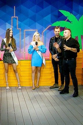 2020-09-09 Justyna Starzyk i Magdalena Kot zostały Miss Lata Polo TV