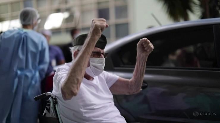 99-letni weteran II wojny światowej wygrał walkę z koronawirusem