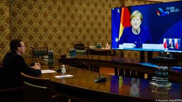"""Morawiecki rozmawiał z Merkel. """"Potwierdziłem naszą gotowość do zawetowania budżetu"""""""