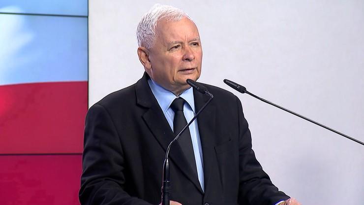"""Kaczyński ogłasza """"Piątkę dla zwierząt"""""""