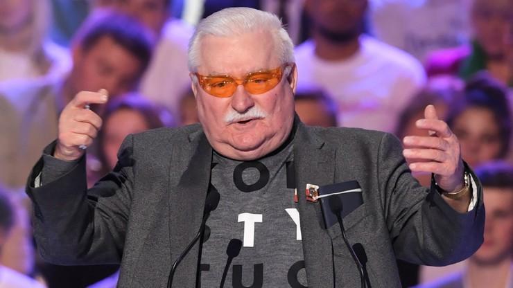 Wałęsa nie będzie głosował na KO. Napisał kogo wesprze