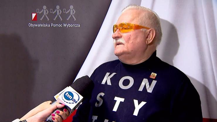 """Wałęsa wezwie do """"milionowego marszu na Warszawę"""". Tusk zachęca do protestów ws. praworządności"""
