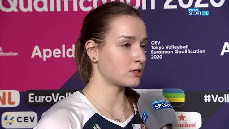 Jagła: Cieszę się, że mogłam pomóc drużynie
