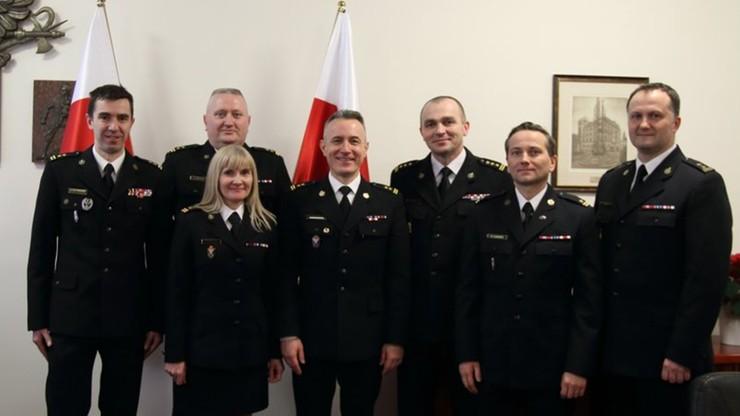 Zmiany w Komendzie Głównej Straży Pożarnej. Odwołani zastępcy