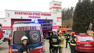 Volkswagen Golf staranował bramę i wbił się w garaż Ochotniczej Straży Pożarnej [ZDJĘCIA]