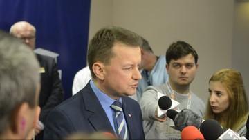 """""""Były premier zmienił się w hejtera"""". Błaszczak o Tusku w """"Gościu Wydarzeń"""""""