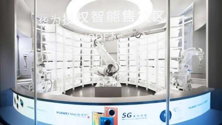 Huawei otworzył pierwszy na świecie sklep obsługiwany tylko przez roboty