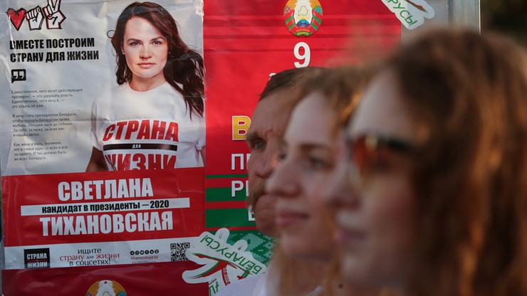 """""""Alternatywne liczenie głosów"""" na Białorusi. UE wzywa do uczciwych wyborów"""
