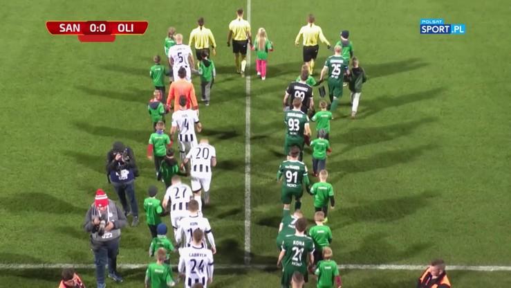 Sandecja Nowy Sącz - Olimpia Grudziądz 3:1. Skrót meczu