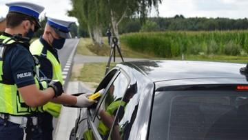6 tys. zatrzymanych praw jazdy. Policja podsumowała pierwszy miesiąc wakacji