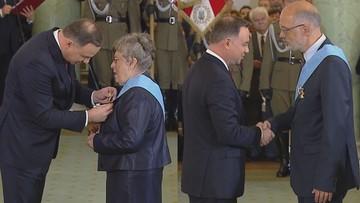 Prof. Grażyna Świątecka i prof. Andrzej Nowak. Kim są odznaczeni Orderem Orła Białego?