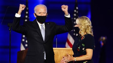 Biden: naród dał nam pewne zwycięstwo