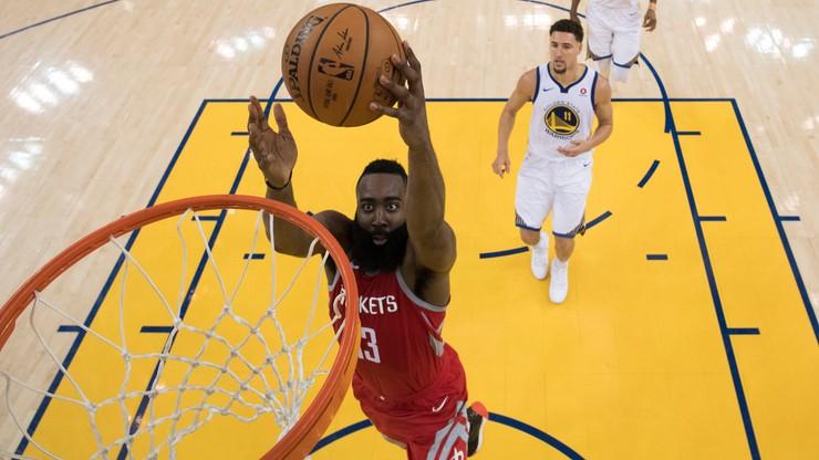 NBA: Harden błyszczał w zwycięskim meczu Rockets