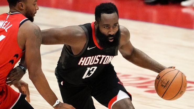 NBA: Niesamowity wyczyn Hardena! Zrobił to już po raz czwarty w karierze