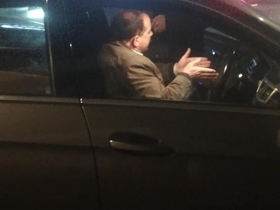 Artur Zawisza zatrzymany przez patrol policji. Prowadził auto bez uprawnień