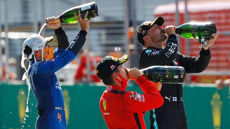 """Magazyn Formuły 1: Bottas triumfował w """"szalonym"""" wyścigu w Austrii"""