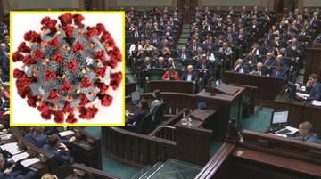 Specjalne posiedzenie Sejmu dt. koronawirusa. Znamy datę