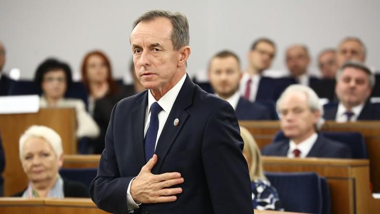 Czaputowicz: marszałek Senatu mówił mi o spotkaniu z ambasadorem Rosji