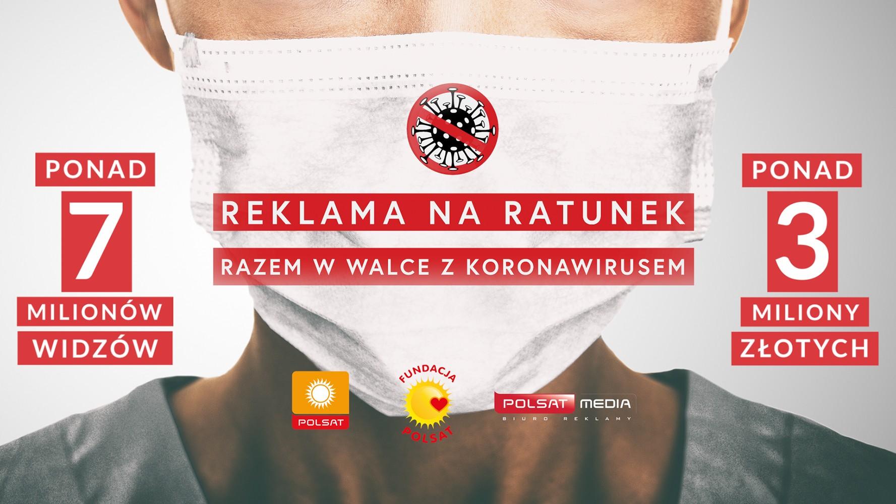 """Wielki sukces akcji """"Reklama na Ratunek"""" w Polsacie"""