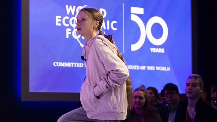 """""""Praktycznie nic nie zrobiono dla klimatu"""". Greta Thunberg w Davos"""