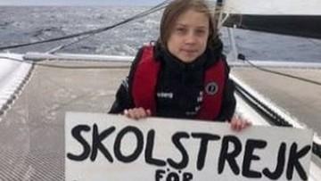 Greta Thunberg płynie katamaranem na szczyt klimatyczny. Zbliża się do Lizbony