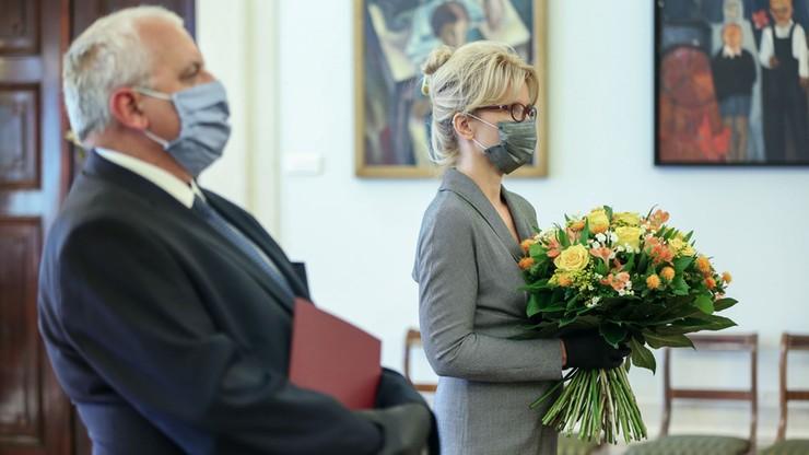 Lipiński i Gajęcka w NBP. Prezydent wręczył powołania