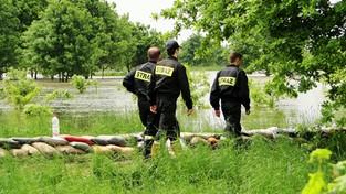 31-05-2020 09:00 Na skutek ulewnych deszczy rzeki przekraczają stany alarmowe. Możliwe są lokalne podtopienia