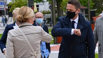 Zieloni popierają kandydaturę Trzaskowskiego