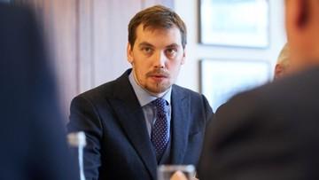 Premier Ukrainy złożył dymisję. Zełenski daje dwa tygodnie na ustalenie autorów nagrań